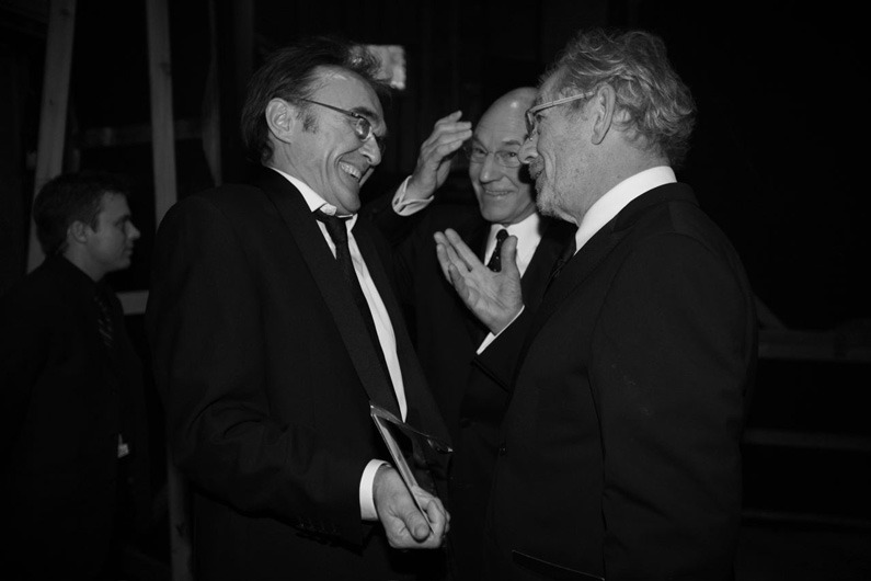 Danny Boyle, Patrick Stewart and Ian McKellan by Greg Williams