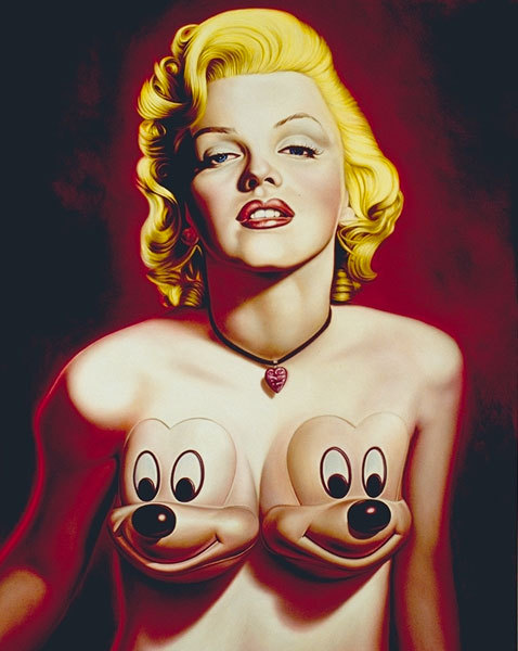 Marylin Mon-Mickey-Roe.