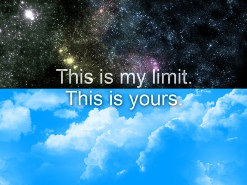 randomlife4me:  Don't tell me the sky is the limit when there are fucking footprints on the moon…