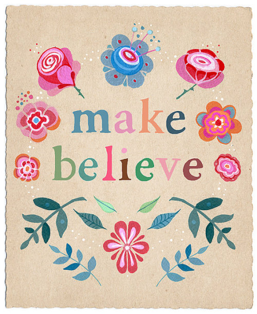 petitpoulailler:  rabbit-hearted-girl: Make Believe by LilyMoon