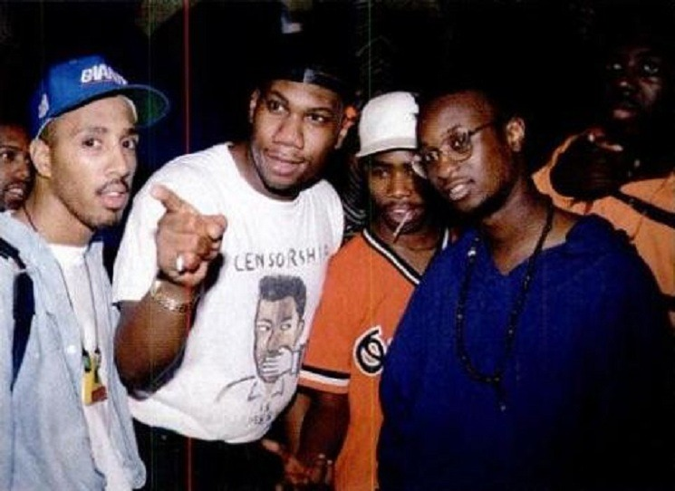 CHARLIE BROWN x KRS-ONE x DINCO D x ZEV LOVE X x ERICK SERMON