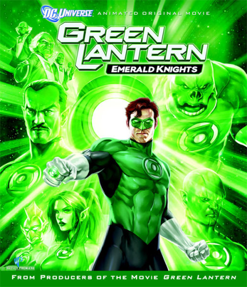 (#101) Green Lantern: Emerald Knights - 2011 - Directed by Chris Berkeley, Lauren Montgomery, & Jay Oliva Beautifully animated film, all the short stories that tie the film together are very well written and ultimately come together for a fantastic pay off at the end of the film. This is yet another quality release from DC Animated.