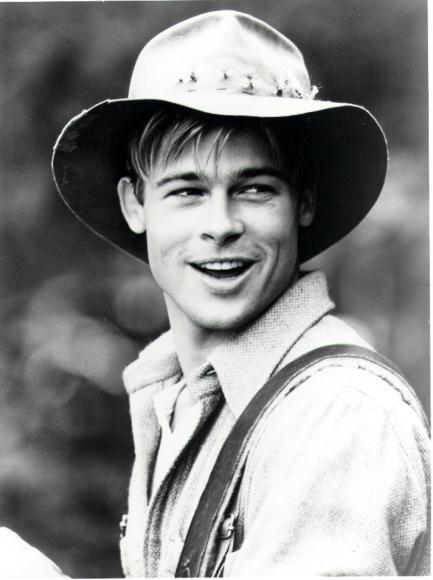 DEAR BRAD PITT,I WANNA AGE BACKWARDS WITH YOU.