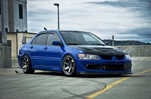 stance-swagger:  Nico's EVO VIII by www.nickdebono.com on Flickr.