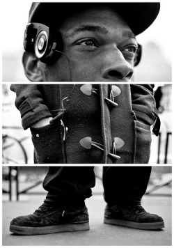 Triptychs of Strangers #7: France got talent - Paris by theblackstar on Flickr.