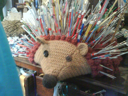A Very Prickly Hedgehog: This is one of the coolest things I've seen, ever! I want one so very much…