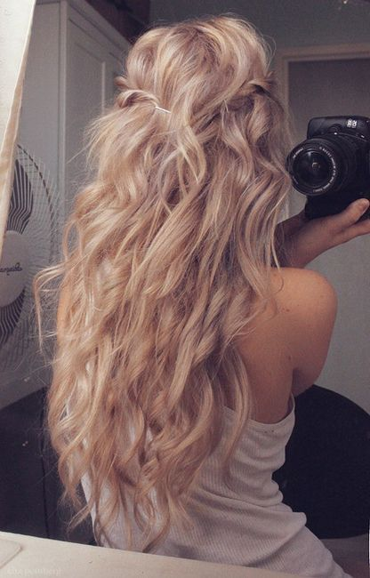 Tumblr on We Heart It. http://weheartit.com/entry/13871031 I want hair just like this!