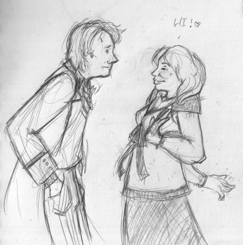 Also this. Also old. Because Charley should hang out with every Doctor. Because she is brilliant and I love her.