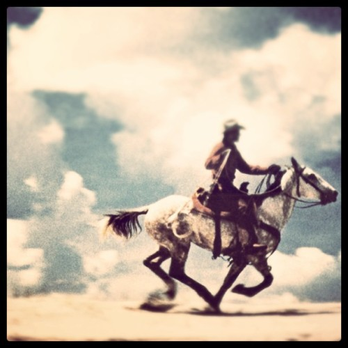 Richard Prince - Untitled (Cowboy), 1989. Modified using instagram. View original version here.