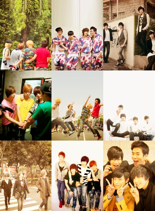jinchul:  9 favorite pictures of F.Cuz OT4 « asked by countingyourpulses