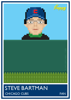 flipflopflyball:  Flopps card No. 36: Steve Bartman The other thirty-five Flopps here: http://www.flipflopflyin.com/flipflopflyball/flopps.html