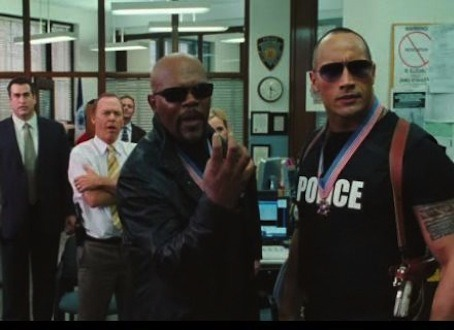 No one can stop Samuel L Jackson and The Rock.