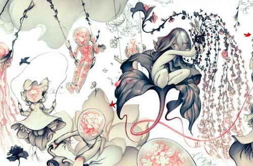 reginagalore:  James Jean