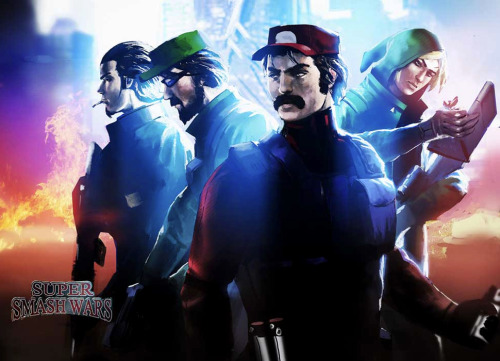justinrampage:  Ash, Luigi, Mario and Link gather together to become Team Revolution! It's time to bring the Super Smash Wars to evil's doorstep. Related Rampages: Bowser Super Suit | Sgt Mario Revolution team by Espen Sætervik (deviantART) (Facebook) (Twitter)