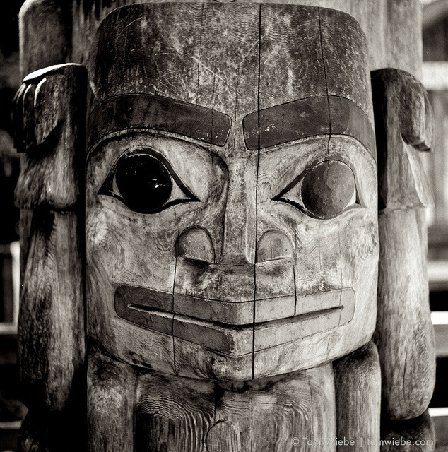 Bear on Flickr.Via Flickr: Detail of a totem pole at Stanley Park's Klahowya Village. Sadly, closed as of yesterday for the season but, if you haven't checked it out yet, make sure to put it on your calendar for next year.