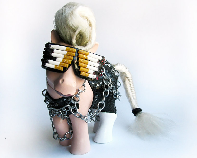 greyandgray:  My Little Pop Icon: My Little Lady Gaga - Mari Kasurinen  Love it!!