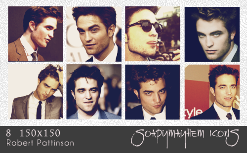 Icon Pack Robert Pattinson