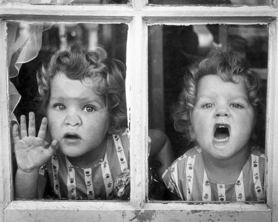 liquidnight:  Thurston Hopkins The Champion twins, 1956 [via guardian.co.uk]