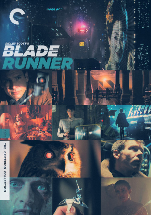 "midmarauder:  Criterion Cover for Ridley Scott's ""Blade Runner"""