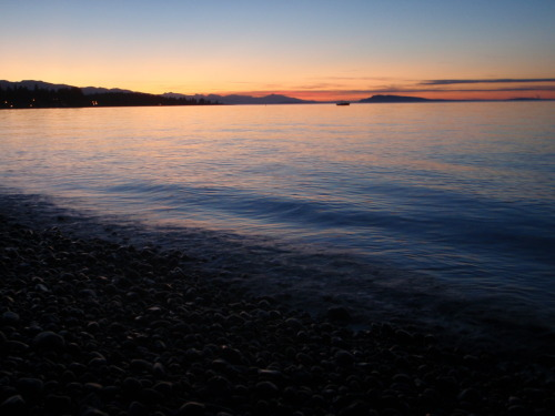 Qualicum Sunset September 6, 2011.