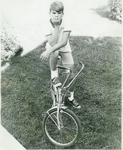The Schwinn Stingray- sparking a boy's love affair with wheels. Read more…