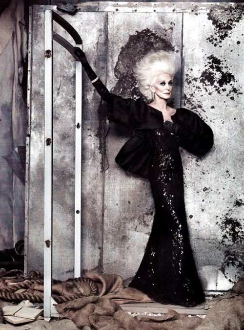 Carmen Dell-Orifice, photographed by Ruven Afandor