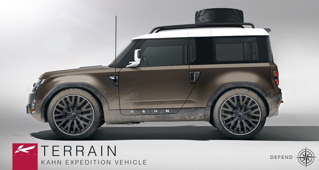 Sexy Concept Series: Project Kahn Land Rover Defender DC100 Concept Terrain Kahn Expedition Vehicle (Rendered)