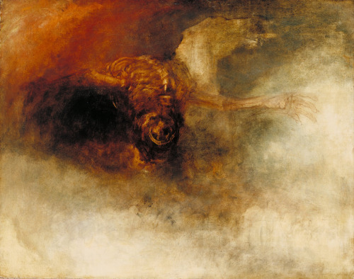 nuclearharvest:  Death on a Pale Horse by Joseph Mallord William Turner