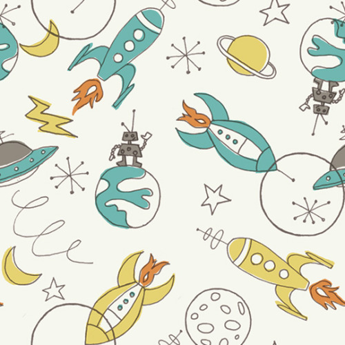 by Monaluna Design (via Rocket-Inspired Fabrics from Birch @Craftzine.com blog)