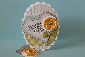 Rolled Ribbon Flower Tutorial (via Splitcoaststampers - Tutorials)
