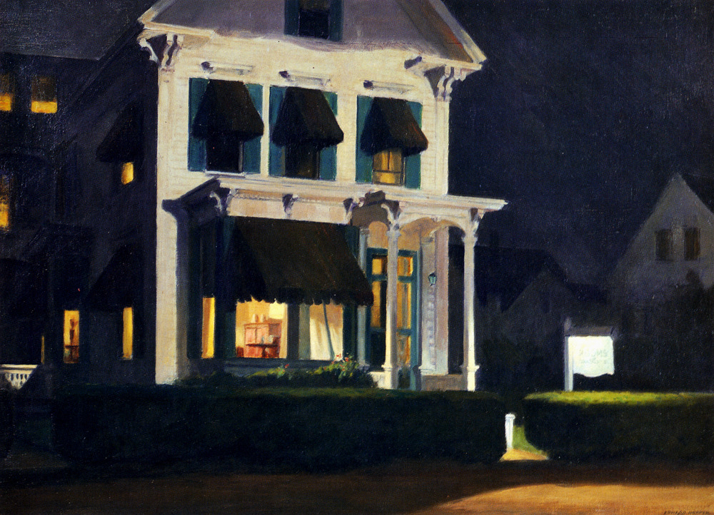 deadpaint:  Edward Hopper, Rooms for Tourists
