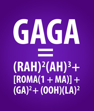 xtweetyzx:  The GAGA Equation