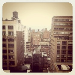 calivintage:  good morning nyc!  springtime, it'll be me and NYC