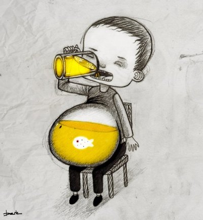 urhajos:  http://batrams.blogspot.com/p/point-blank.html  'Beer Belly' by Berk Öztürk