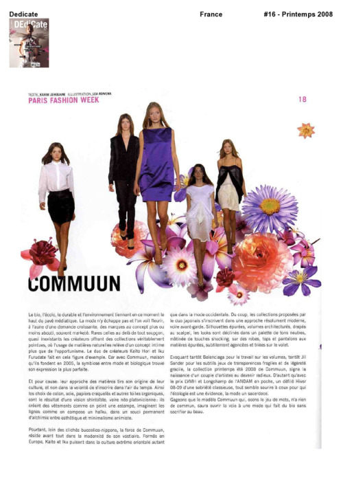 DEdiCate MAGAZINE COMMUUN