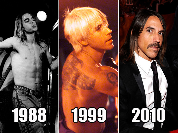 "redhotchilipeppersfansite:  Anthony Kiedis has aged remarkably well says new VH1 Blog Article!""Sex Symbol - Time has been kind to Mr. Suck My Kiss."" Read the article here…  he has! and well he would look far younger without that moustache…but still :P"