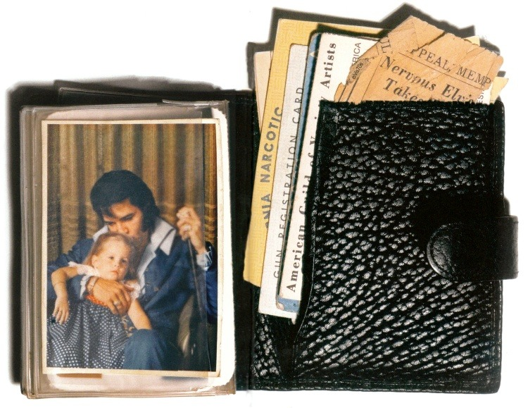 elvisinthe70s:  Elvis's Wallet At the Time Of His Death