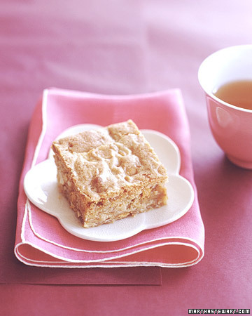 Ooh, butterscotch blondies!