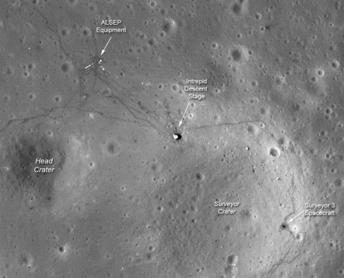 discoverynews:  New Photos Show Astronauts' Trek on the Moon