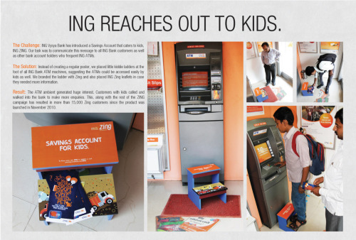 jaymug:  ING Vysya Bank Campaign: ING Zing Savings Account for kids