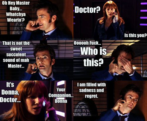 The Doctor's real arch nemesis is the speeddial on his phone.