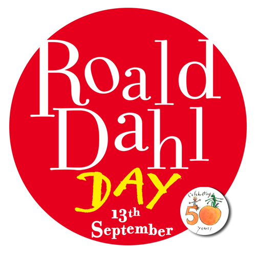 "prettybooks:  Happy Roald Dahl Day! This year, the 50th anniversary of James and the Giant Peach is being celebrated.  ""Above all, watch with glittering eyes the whole world around you  because the greatest secrets are always hidden in the most unlikely  places. Those who don't believe in magic will never find it."" - Roald  Dahl"