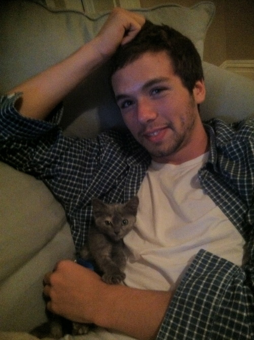 cuteboyswithcats:  -mike