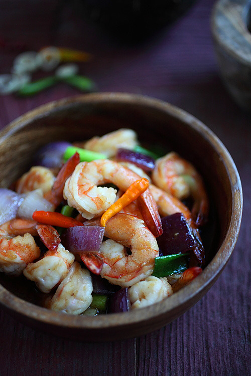 Lemongrass Shrimp