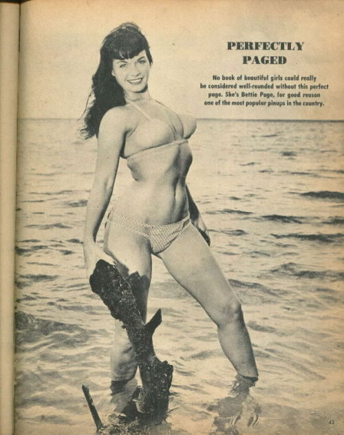 realbroad:  Bettie Page in Frolic, December 1956