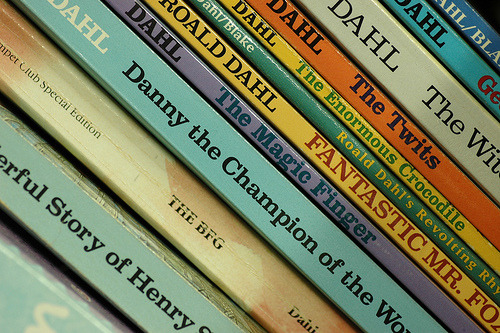 prettybooks:   (by Steve Schuetz)   Roald Dahl, one of the best Children's authors ever in my opinion. His stories are fantastical.