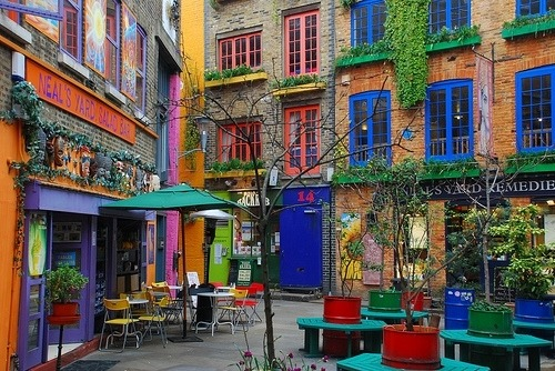 Near Covent Garden, London, England