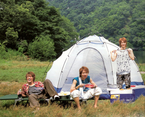 aww wanna see them go camping :D