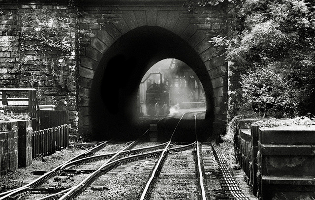 bluemistroundmysoul:  Grosmont Tunnel, NYMR, Yorkshire, UK by 2c.. on Flickr.