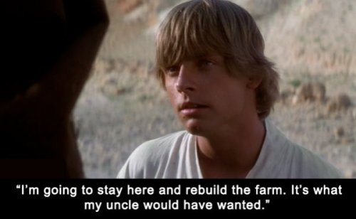 collegehumor:  8 Lines That Would Have Ended Star Wars Real Fast   It's so true though…